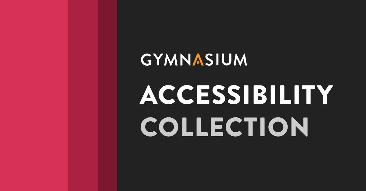 Accessibility Collection cover image.
