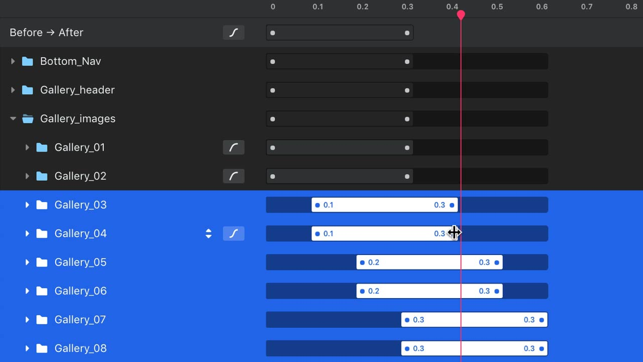>Working With the Timeline in Invision Studio