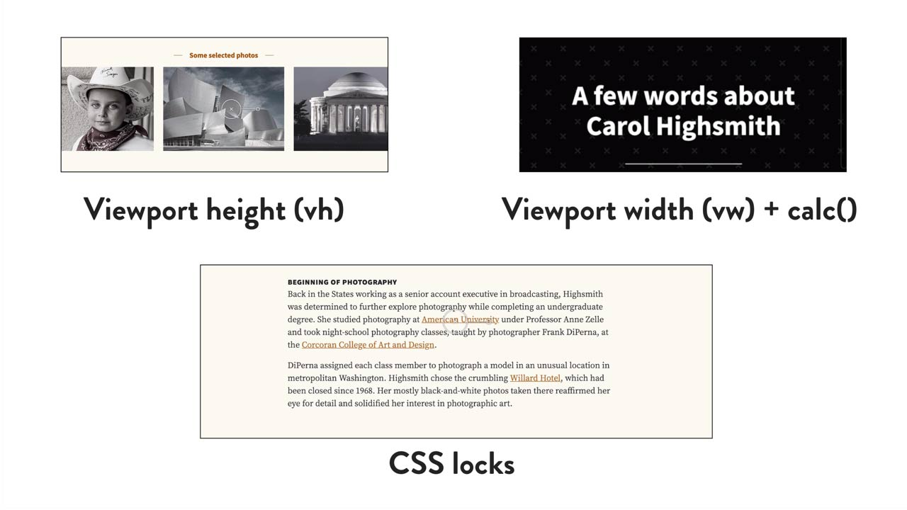 Responsively Designing With Viewport Units